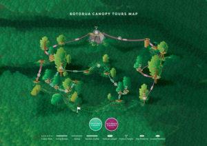 Map-of-rotorua-canopy-tours-course