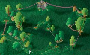 Map-of-zipline-course