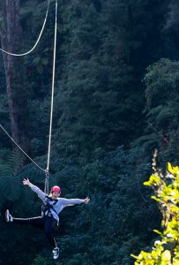 Girl-on-zipline-with-forest-behind